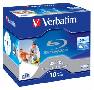BD-R DL VERBATIM 50 GB 6x Jewel Case 10  szt.